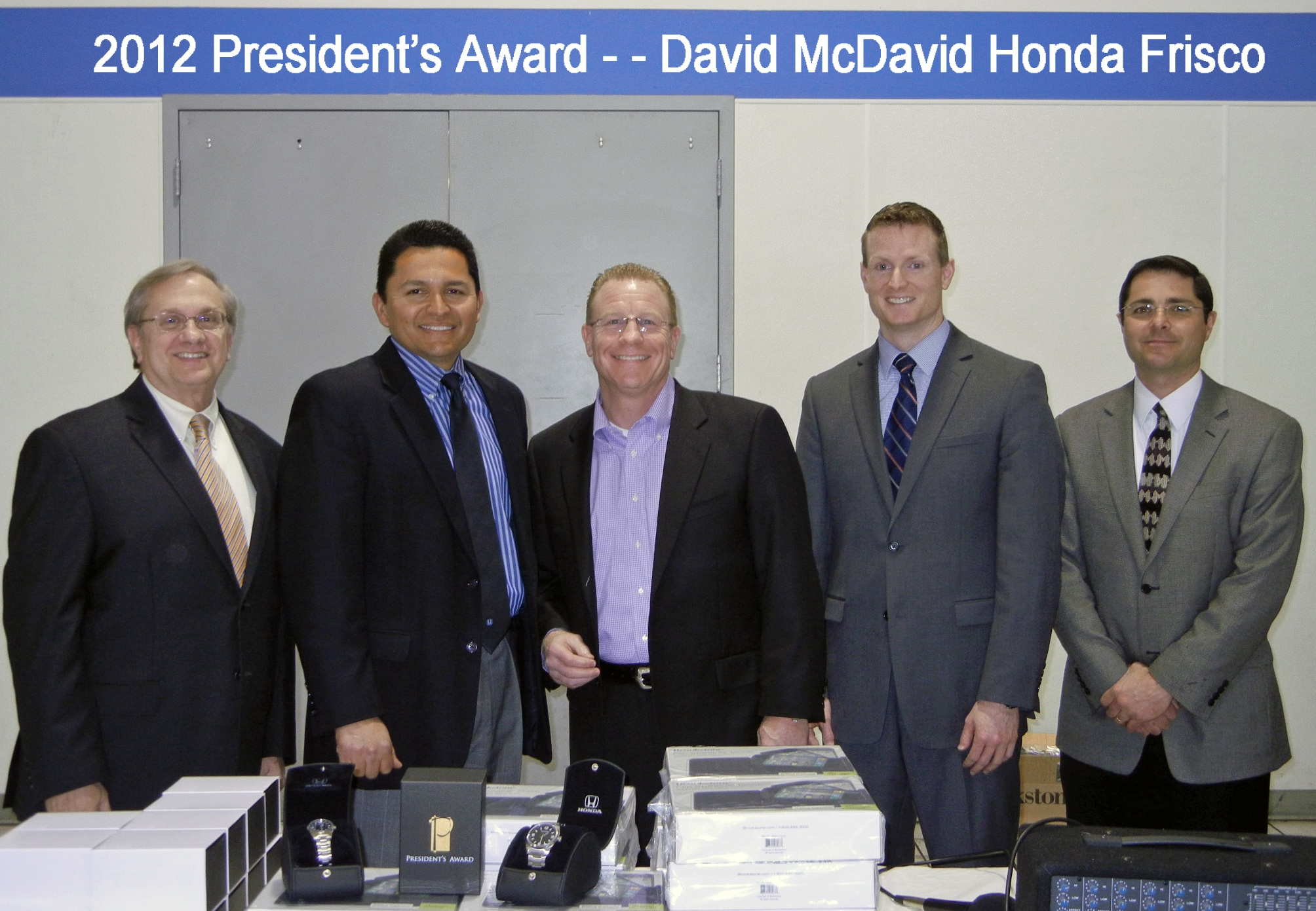 David mcdavid honda frisco honda president s award winner for David mcdavid honda of frisco