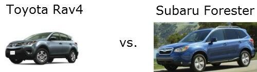 RAV4 vs Forester  Dayton Toyota South Brunswick NJ