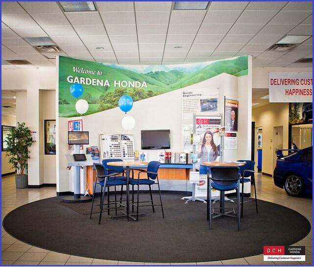 DCH Gardena Honda Interior