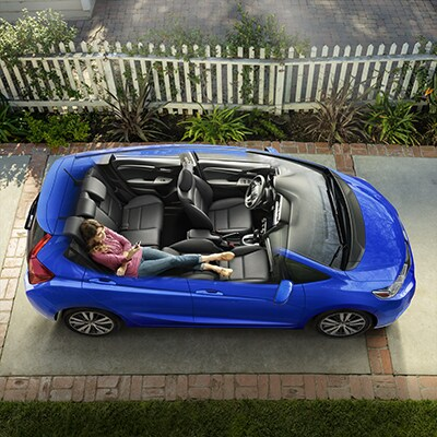 New 2018 Honda Fit Top Cutaway