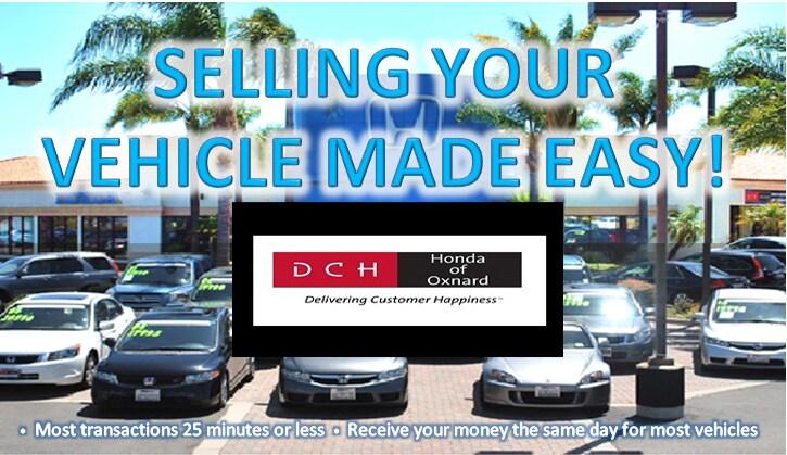 Buy My Car Sell A Car At Our Honda Dealer Near Port Hueneme Ca