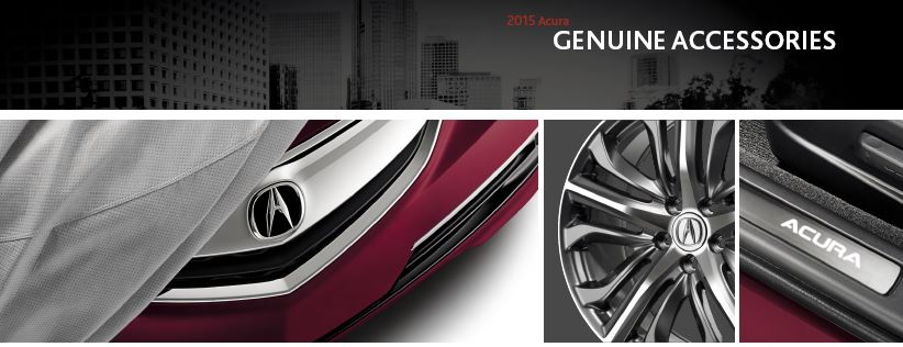 Acura genuine accessories