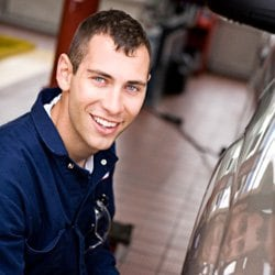 Image Of Parts Technician At Ford Dealership - Russell Barnett Ford of Winchester