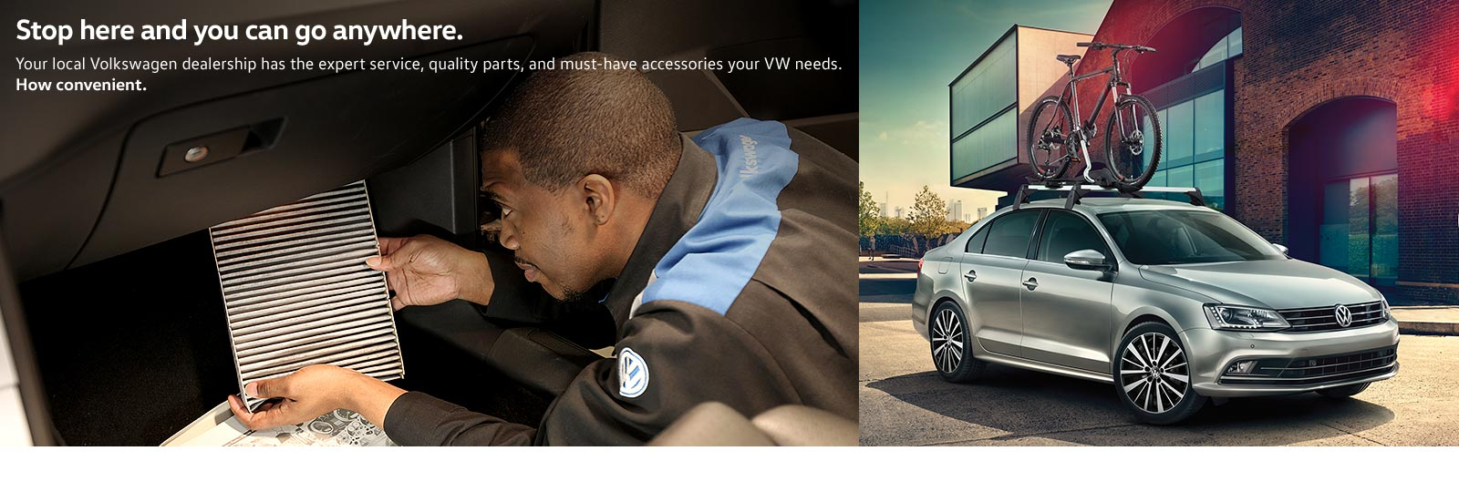 Quality, expertise, convenience, and value. Get the service you deserve at your local Volkswagen dealer.