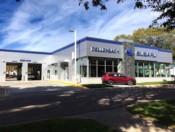 History of dellenbach subaru subaru dealer in fort for Dellenbach motors used cars