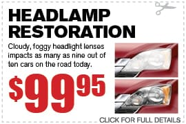Headlamp Restoration Special