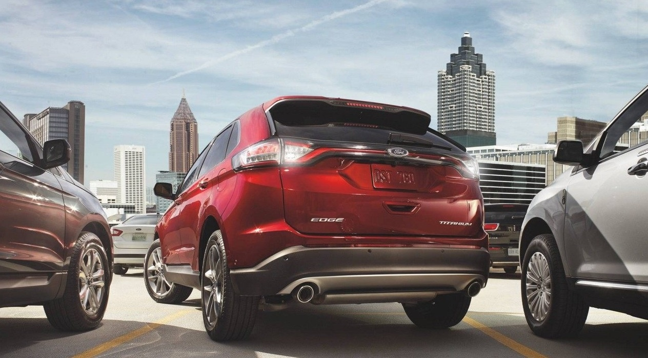 2017 Ford Edge Rear View