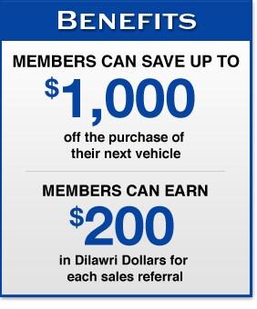 Dilawri Rewards Benefits