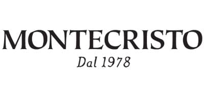 text font Montecristo Dal 1978