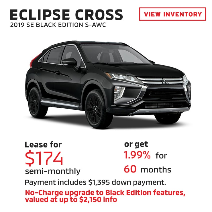 Mitsubishi Eclipse Lease: New Vehicle Specials