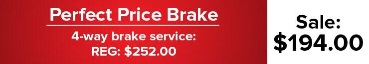 Perfect Price Brake