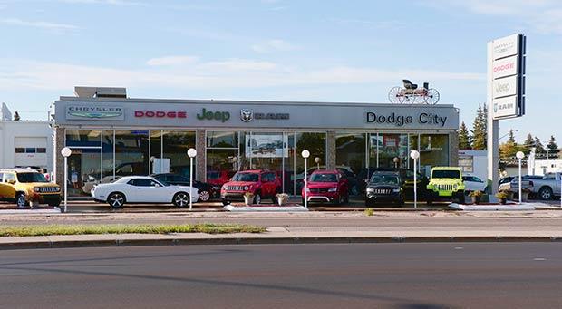 Dodge City Auto Store Front