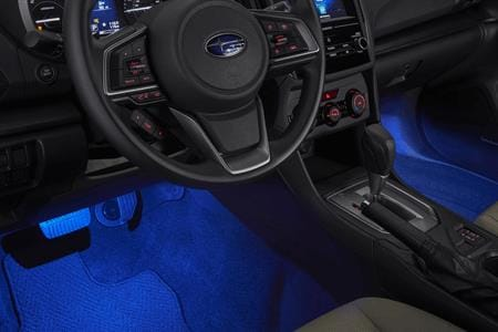 15% OFF Footwell Illuminated Kit and 10% OFF Installation