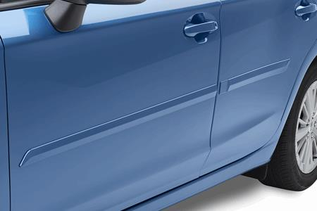 15% OFF Body Side Moulding Kit and 10% OFF Installation