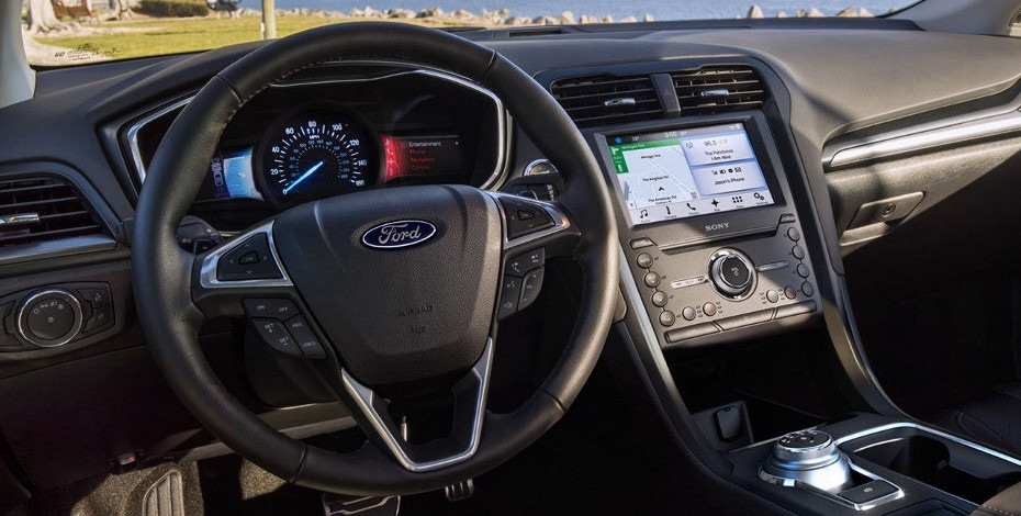 2017 ford fusion interior and exterior