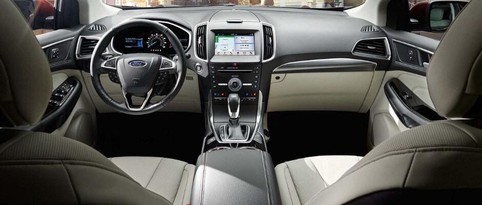 2017 Ford Edge Interior And Design In Mount Vernon OH