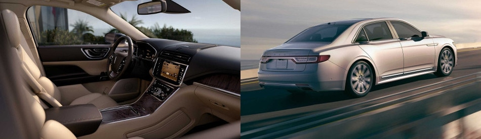 2017 lincoln continental interior and exterior