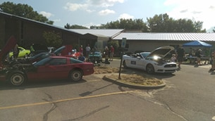 St. Michael Lutheran Car Show 3