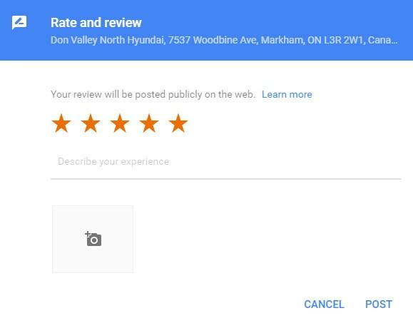 Review Don Valley North Hyundai