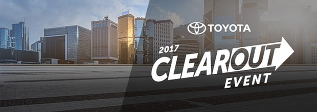 Toyota Clear Out Event