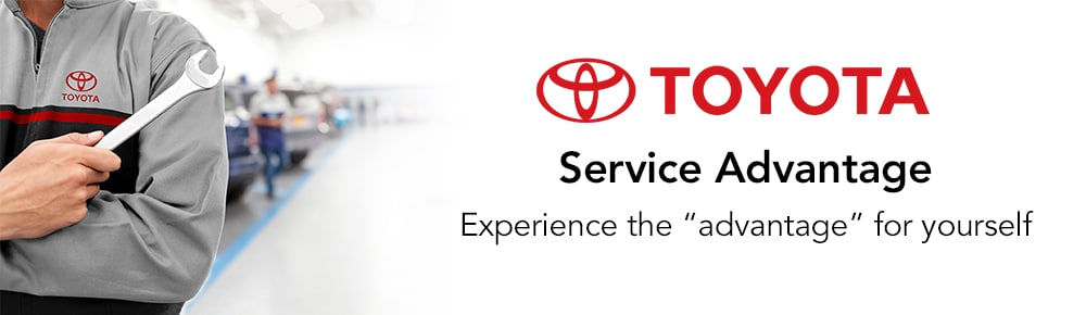 Toyota Service Advantage - Experience the Quality Service yourself