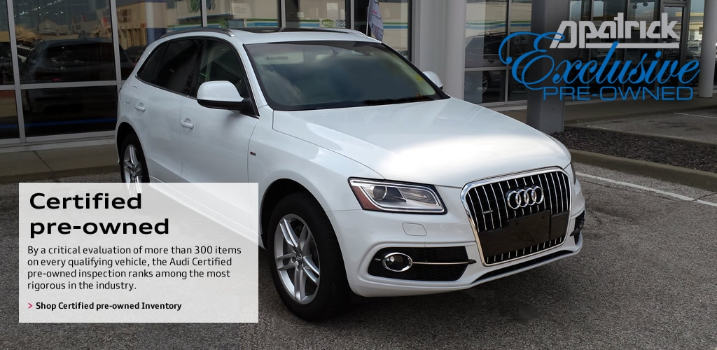 your local audi dealership in evansville in | used luxury suv for