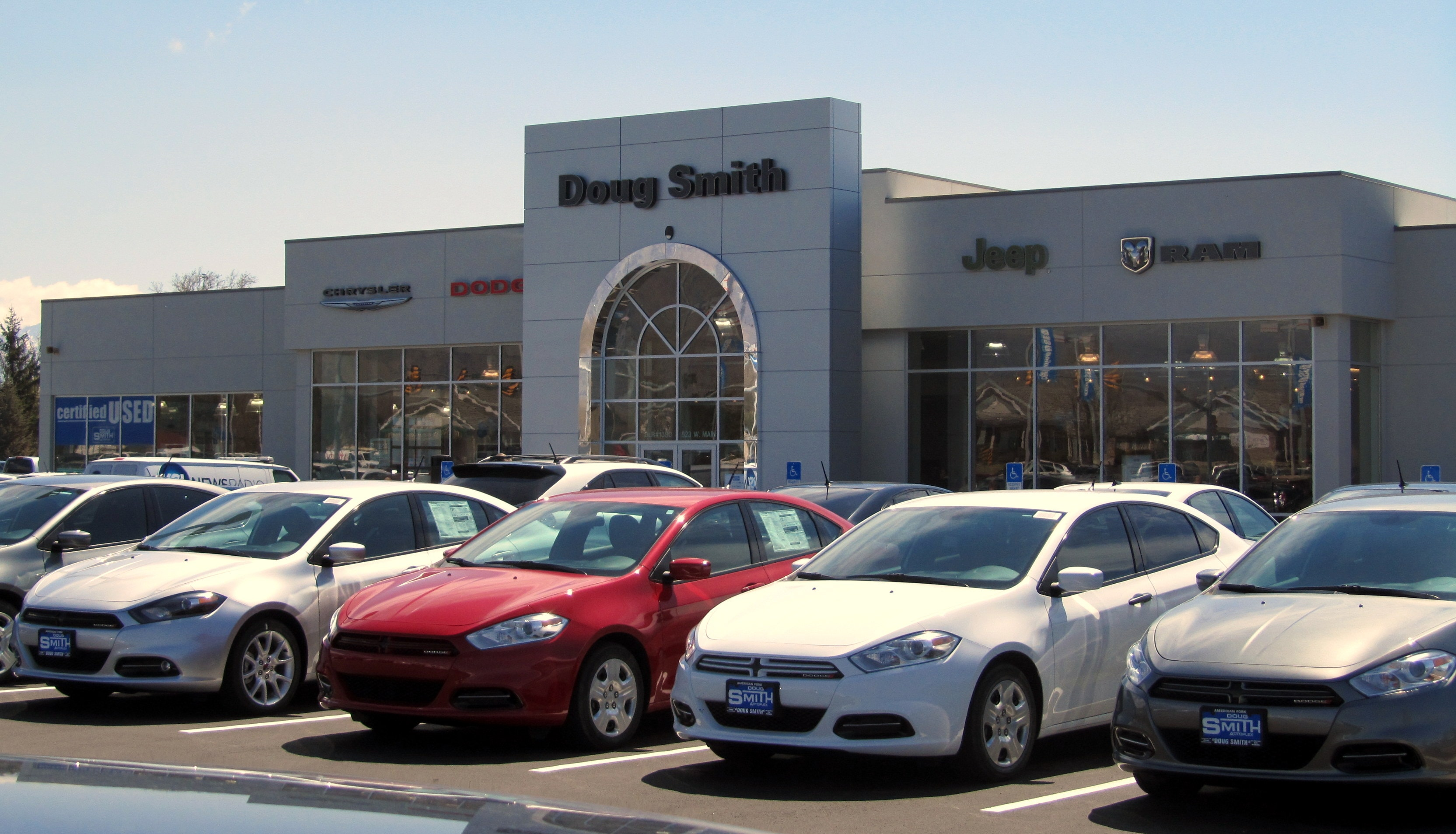 About Doug Smith Autoplex American Fork Utah 84003