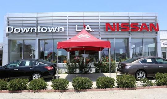 nissan dealer downtown los angeles nissan of downtown la. Black Bedroom Furniture Sets. Home Design Ideas