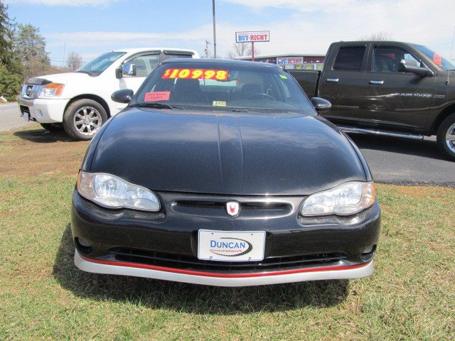 Used 2002 Chevrolet Monte Carlo For Sale Christiansburg Va