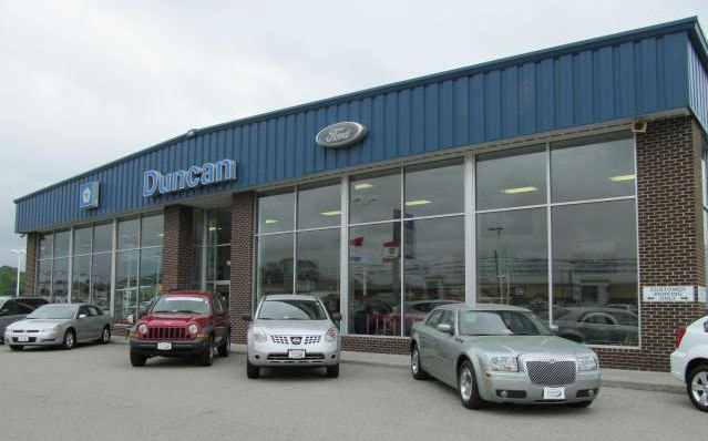 about duncan ford | a ford dealership in rocky mount