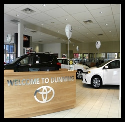 Showroom Photo, Toyota Dealers, Michigan - Dunning Toyota
