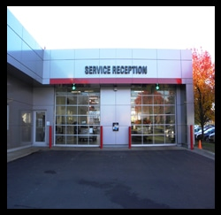 Service Reception Photo, Toyota Dealers, Michigan - Dunning Toyota