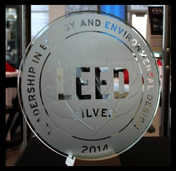 Leed Silver Image, Toyota Dealers, Michigan - Dunning Toyota