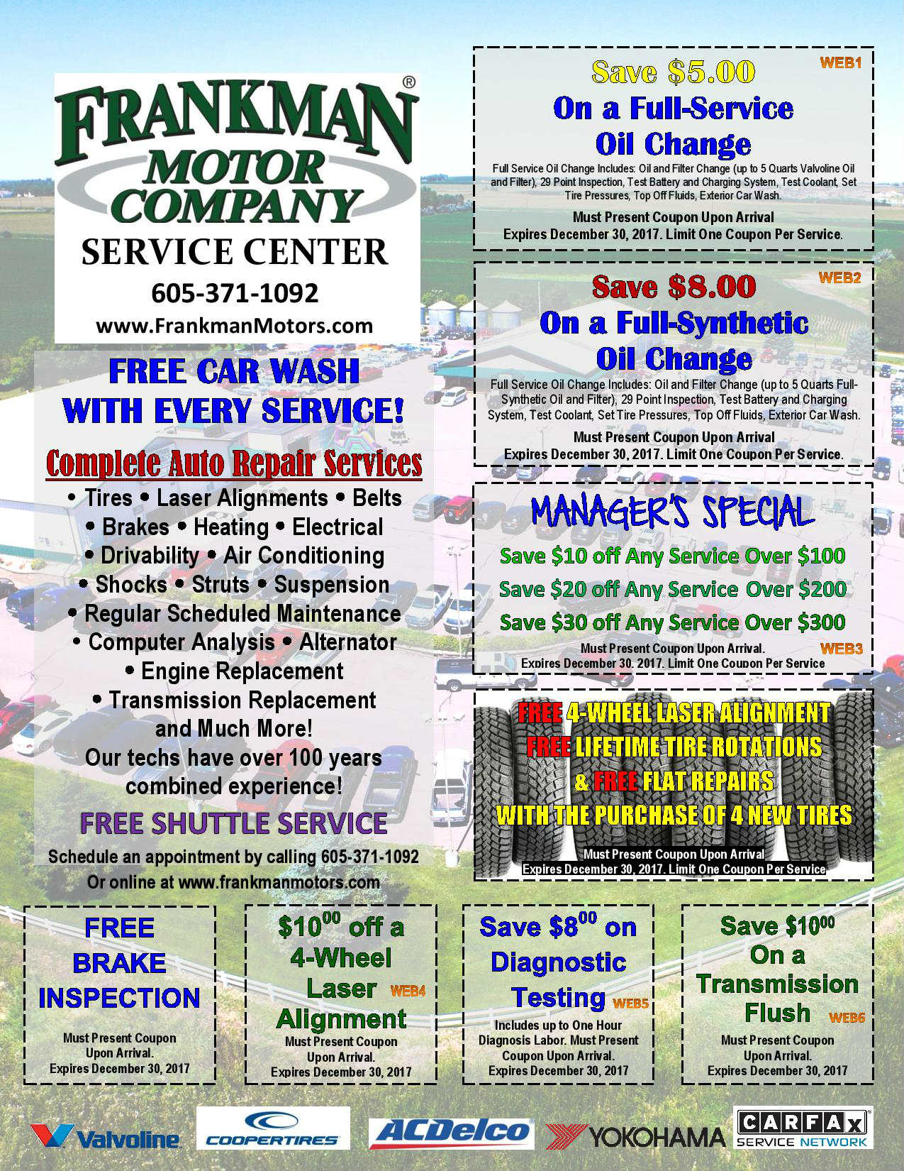 100 Tire U0026 Auto Service Coupons Summer