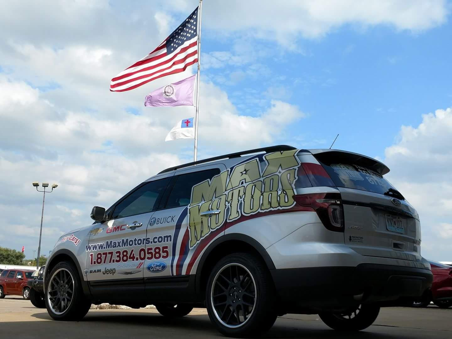 Max motors dealerships new dodge jeep buick chevrolet for Max motors ford harrisonville mo