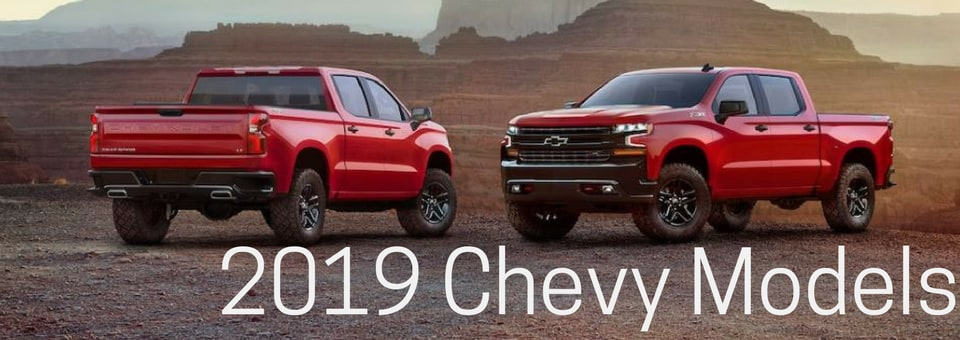 Browse New Chevy Models