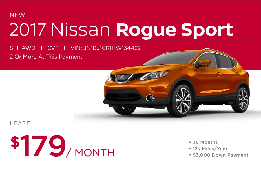 Nissan Rogue Sport Special Offer