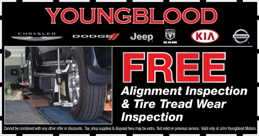 Youngblood Auto Group | New Kia, Jeep, Dodge, Chrysler, Nissan, Ram
