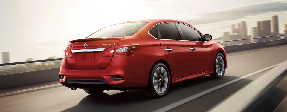 2019 Nissan Sentra SR Turbo rear view
