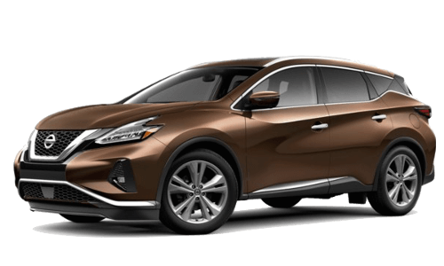 A brown Nissan Murano