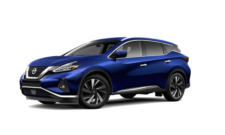 A blue 2020 Nissan Murano SL