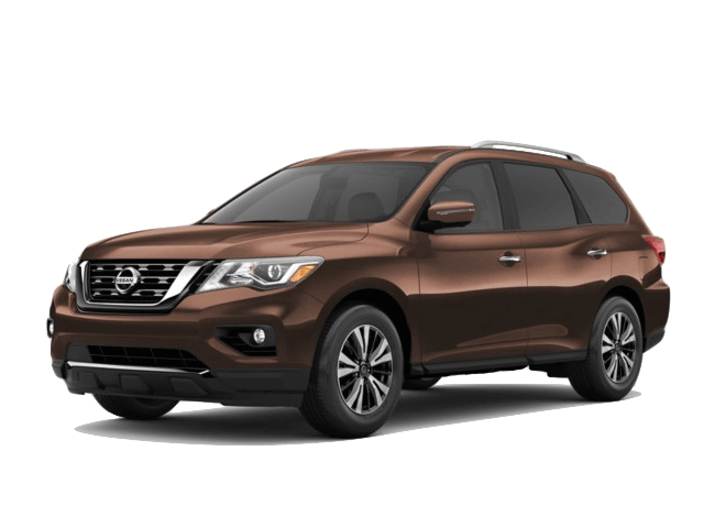 A brown 2020 Nissan Pathfinder SL