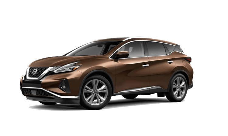 An tan 2020 Nissan Murano Platinum