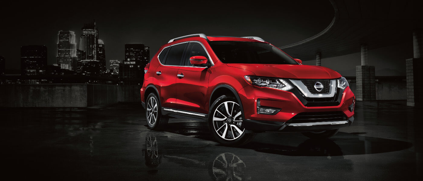 Nissan Rogue glamour shot