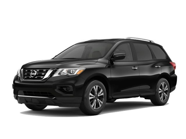 A black 2020 Nissan Pathfinder S