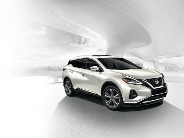 A white 2020 Nissan Murano