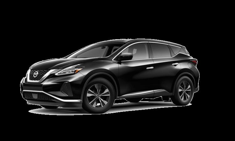 A black 2020 Nissan Murano S