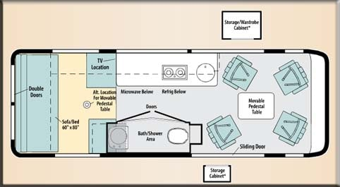 Skoolie.net • View topic - Conversion Encyclopedia - Floor Plans