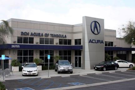 Acura on Acura Of Temecula New Acura And Used Car Dealer Dch Acura Of Temecula