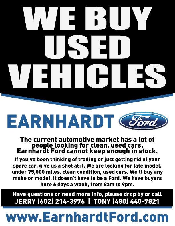 We Buy Phoenix Used Cars | Earnhardt Ford Chandler AZ